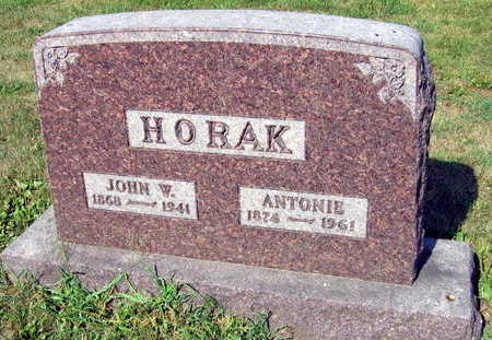 HORAK, JOHN W. - Linn County, Iowa | JOHN W. HORAK