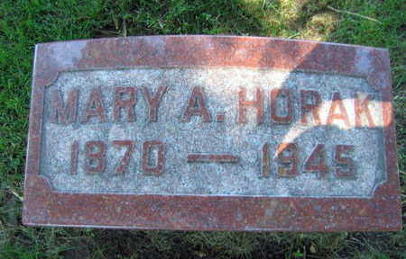 HORAK, MARY A. - Linn County, Iowa | MARY A. HORAK