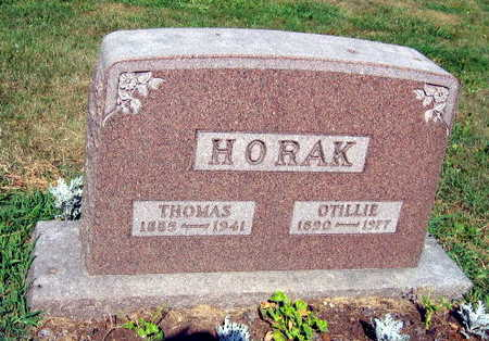 HORAK, OTILLIE - Linn County, Iowa | OTILLIE HORAK