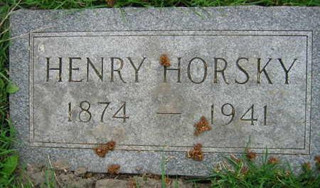 HORSKY, HENRY - Linn County, Iowa | HENRY HORSKY