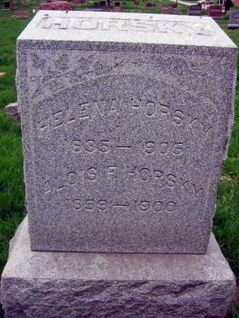 HORSKY, ALOISE F. - Linn County, Iowa | ALOISE F. HORSKY