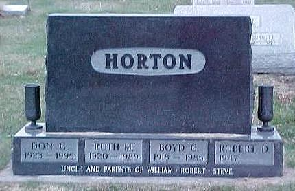 HORTON, DON G. - Linn County, Iowa | DON G. HORTON