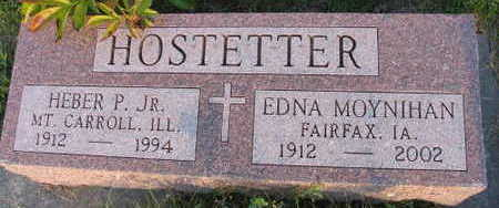 HOSTETTER, EDNA - Linn County, Iowa | EDNA HOSTETTER