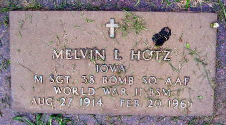 HOTZ, MELVIN L. - Linn County, Iowa | MELVIN L. HOTZ