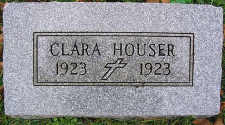 HOUSER, CLARA - Linn County, Iowa | CLARA HOUSER