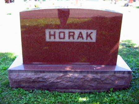 HORAK, FAMILY STONE - Linn County, Iowa | FAMILY STONE HORAK