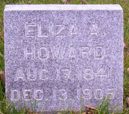 HOWARD, ELIZA A. - Linn County, Iowa | ELIZA A. HOWARD
