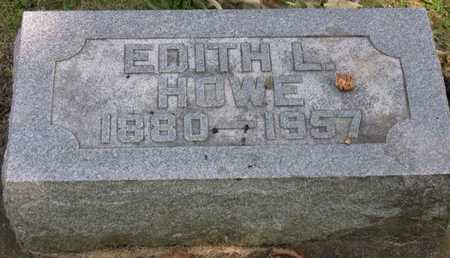 HOWE, EDITH L. - Linn County, Iowa | EDITH L. HOWE
