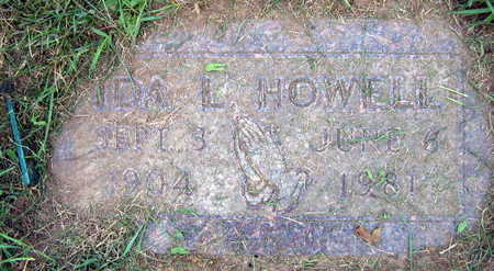 HOWELL, IDA L. - Linn County, Iowa | IDA L. HOWELL