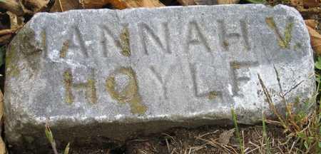 HOYLE, HANNAH V. - Linn County, Iowa | HANNAH V. HOYLE