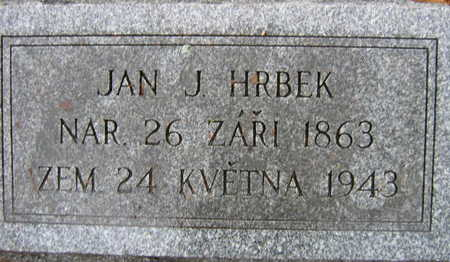 HRBEK, JAN J - Linn County, Iowa | JAN J HRBEK