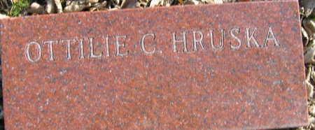 HRUSKA, OTTILLE C. - Linn County, Iowa | OTTILLE C. HRUSKA