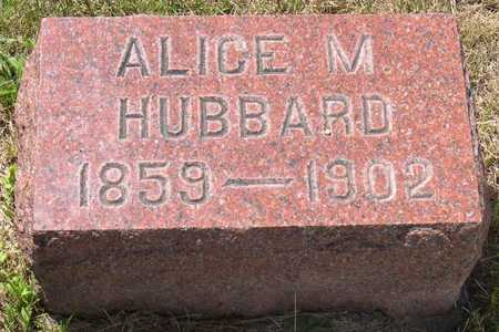 HUBBARD, ALICE M. - Linn County, Iowa | ALICE M. HUBBARD