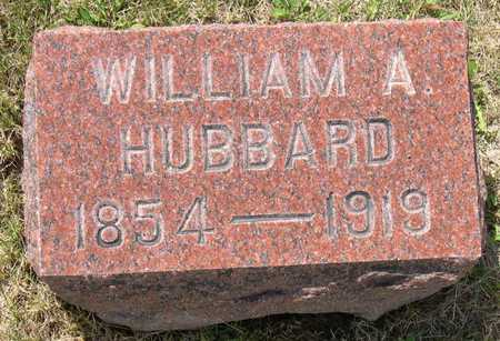 HUBBARD, WILLIAM A. - Linn County, Iowa | WILLIAM A. HUBBARD