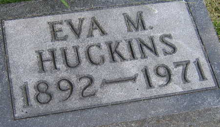 HUCKINS, EVA M. - Linn County, Iowa | EVA M. HUCKINS