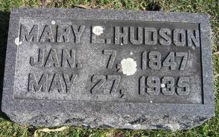 HUDSON, MARY E. - Linn County, Iowa | MARY E. HUDSON
