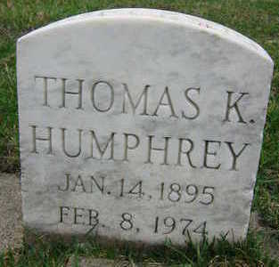 HUMPHREY, THOMAS K. - Linn County, Iowa | THOMAS K. HUMPHREY