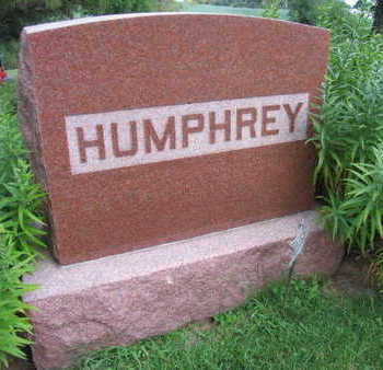 HUMPHREY, FAMILY STONE - Linn County, Iowa | FAMILY STONE HUMPHREY