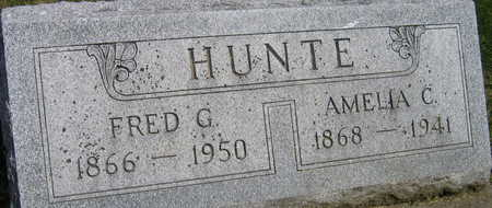HUNTE, FRED G. - Linn County, Iowa | FRED G. HUNTE