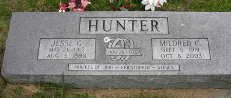 HUNTER, MILDRED C. - Linn County, Iowa | MILDRED C. HUNTER