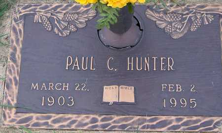 HUNTER, PAUL C - Linn County, Iowa | PAUL C HUNTER