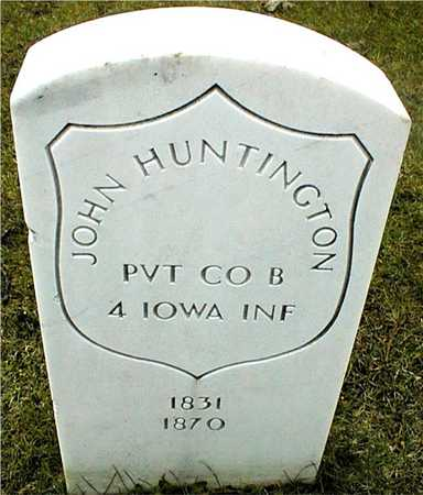 HUNTINGTON, PVT. JOHN - Linn County, Iowa | PVT. JOHN HUNTINGTON