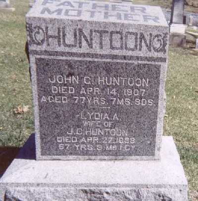 HUNTOON, JOHN C. - Linn County, Iowa | JOHN C. HUNTOON