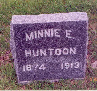 HUNTOON, MINNIE E. - Linn County, Iowa | MINNIE E. HUNTOON