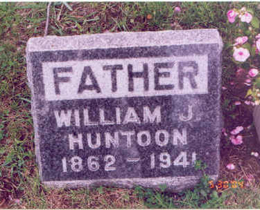 HUNTOON, WILLIAM JOHN - Linn County, Iowa | WILLIAM JOHN HUNTOON
