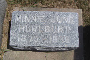 HURLBERT, MINNIE JUNE - Linn County, Iowa | MINNIE JUNE HURLBERT