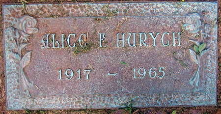 HURYCH, ALICE F. - Linn County, Iowa | ALICE F. HURYCH