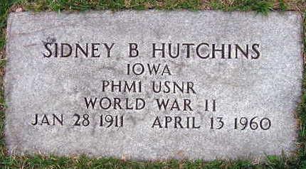 HUTCHINS, SIDNEY B. - Linn County, Iowa | SIDNEY B. HUTCHINS