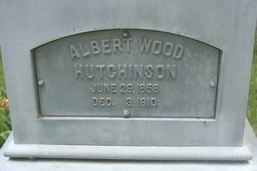 HUTCHINSON, ALBERT WOOD - Linn County, Iowa | ALBERT WOOD HUTCHINSON