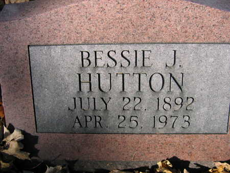 HUTTON, BESSIE - Linn County, Iowa | BESSIE HUTTON