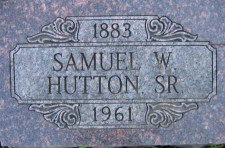 HUTTON, SAMUEL W., SR. - Linn County, Iowa | SAMUEL W., SR. HUTTON