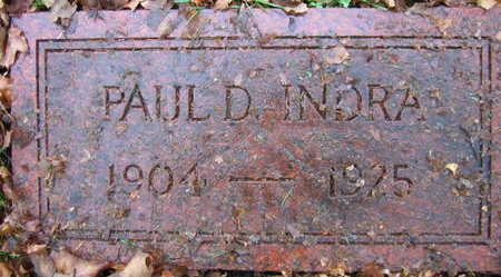 INDRA, PAUL D. - Linn County, Iowa | PAUL D. INDRA
