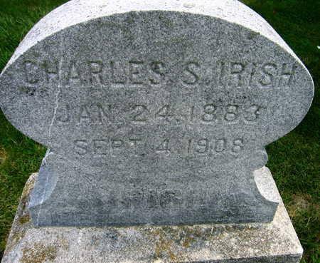 IRISH, CHARLES S. - Linn County, Iowa | CHARLES S. IRISH