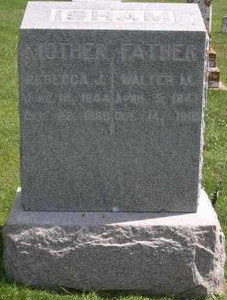 ISHAM, WALTER M. - Linn County, Iowa | WALTER M. ISHAM
