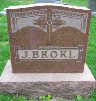 BROKL, FAMILY STONE  (J. BROKL) - Linn County, Iowa | FAMILY STONE  (J. BROKL) BROKL