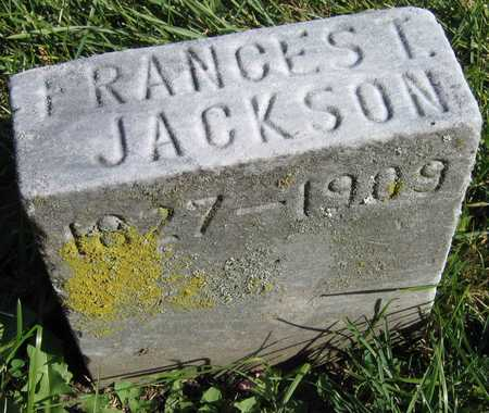 JACKSON, FRANCES T. - Linn County, Iowa | FRANCES T. JACKSON