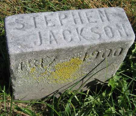 JACKSON, STEPHEN - Linn County, Iowa | STEPHEN JACKSON
