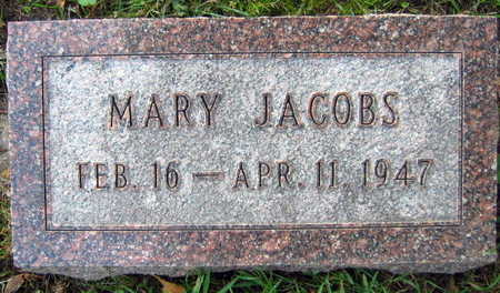 JACOBS, MARY - Linn County, Iowa | MARY JACOBS
