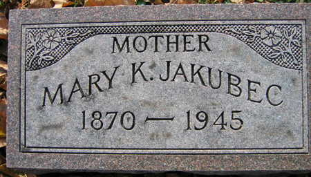 JAKUBEC, MARY K. - Linn County, Iowa | MARY K. JAKUBEC