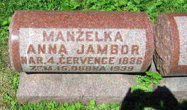 JAMBOR, ANNA - Linn County, Iowa | ANNA JAMBOR