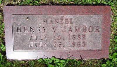 JAMBOR, HENRY V. - Linn County, Iowa | HENRY V. JAMBOR