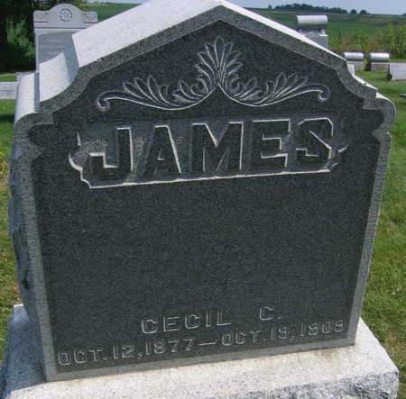 JAMES, CECIL C. - Linn County, Iowa | CECIL C. JAMES