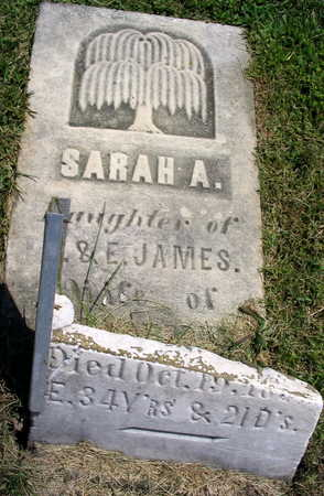 JAMES, SARAH A. - Linn County, Iowa   SARAH A. JAMES