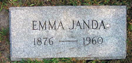 JANDA, EMMA - Linn County, Iowa | EMMA JANDA