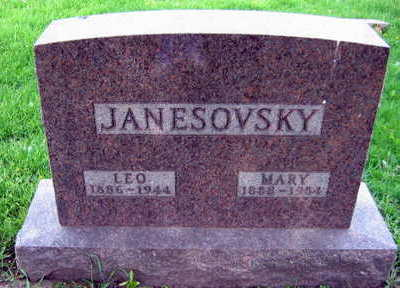 JANESOVSKY, MARY - Linn County, Iowa | MARY JANESOVSKY