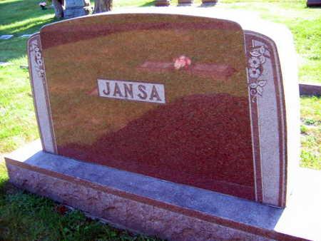 JANSA, FAMILY STONE - Linn County, Iowa | FAMILY STONE JANSA